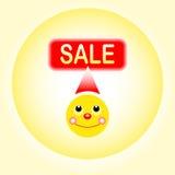 Smiley продажи Стоковые Фотографии RF