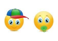 Smiley ребенк Стоковые Фото