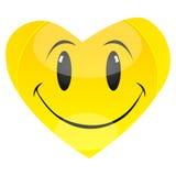 smiley сердца иллюстрация вектора