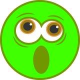 smiley сотрястенный иконой Стоковая Фотография RF