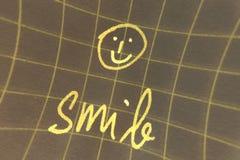 smiley стороны Стоковое Изображение RF