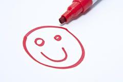 smiley стороны Стоковое Фото