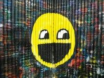 smiley стороны Стоковое фото RF