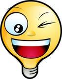 smiley стороны Стоковые Изображения