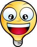 smiley стороны Стоковые Фотографии RF