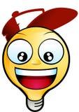 smiley стороны Стоковое Изображение