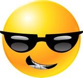 smiley стороны emoticon Стоковое Изображение RF