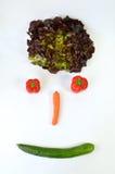 Smiley с овощами Стоковые Фотографии RF