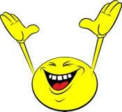 smiley шаржа Стоковое Фото