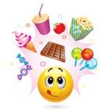 smiley шарика Стоковые Изображения RF