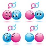 smiley шариков Стоковое фото RF