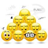 smiley шариков Стоковые Фотографии RF