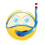 Smiley illustrazione di stock