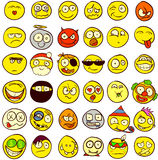 Smiley 36 Arkivbilder