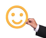 Smiley Fotografia de Stock Royalty Free