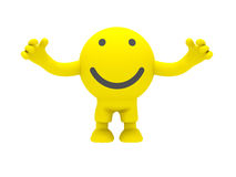 The smiley Stock Photography