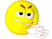 злейший smiley схемы Стоковые Фото