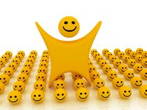 Smiley Images libres de droits
