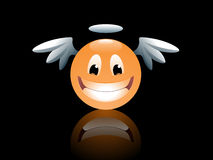 Smiley Angel Royalty Free Stock Images