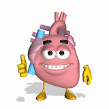 Smiley Aorta - Thumbs Up Royalty Free Stock Photos