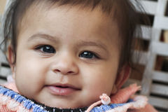 Smiley azjata dziecko obrazy stock