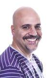 Smiley bald Stock Image