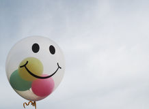 Smiley Balloon Royaltyfri Foto