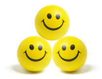 Smiley Balls Stock Photography