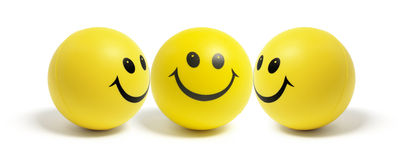 Smiley Balls Stock Photo
