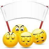 Smiley balls Stock Image