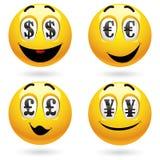 Smiley balls Royalty Free Stock Image