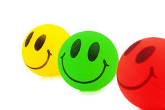 Smiley Balls Stock Images