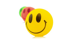 Smiley Balls Royalty Free Stock Photography