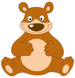 Smiley bear Royalty Free Stock Photo