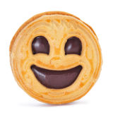 Smiley biscuit Royalty Free Stock Photography