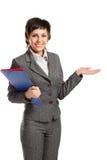 smiley biznesowa kobieta Fotografia Royalty Free