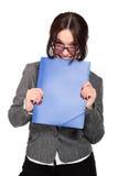 smiley biznesowa kobieta Obraz Royalty Free