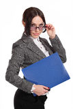 Smiley business woman Stock Photography