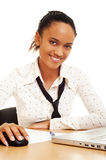 Smiley businesswoman Stock Photos