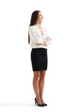 Smiley businesswoman in formal wear Royalty Free Stock Photography