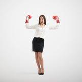 Smiley businesswoman Stock Photos