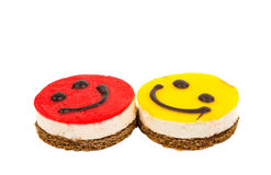 Smiley cake Royalty Free Stock Photo