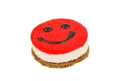 Smiley cake Royalty Free Stock Image