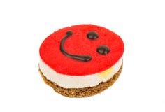 Smiley cake Stock Image
