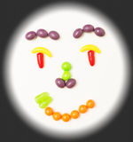 Smiley candy face. Stock Photography