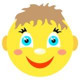 Smiley chłopiec uśmiechy Obraz Royalty Free
