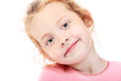 Smiley child Royalty Free Stock Photos