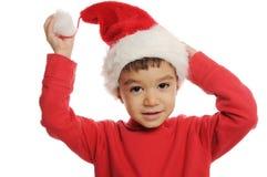 Smiley Christmas-dwerg Royalty-vrije Stock Fotografie