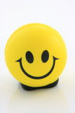 Smiley with clipping path. Smiley isolated on white background Royalty Free Stock Photo