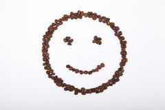 Smiley of coffee Stock Images